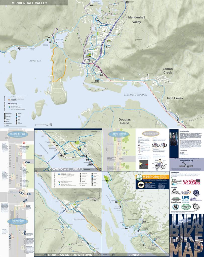 Juneau Bike Map Juneau Rides